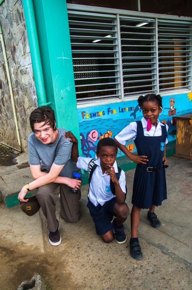Evan and Bagga kids